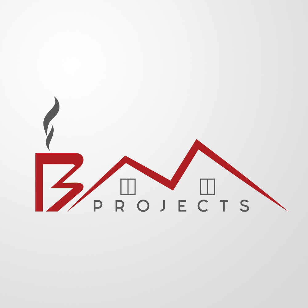 logo bm projects by visualx