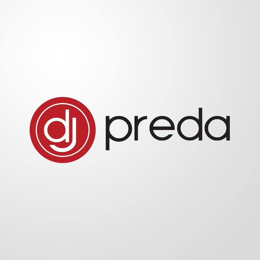 logo dj preda by visualx