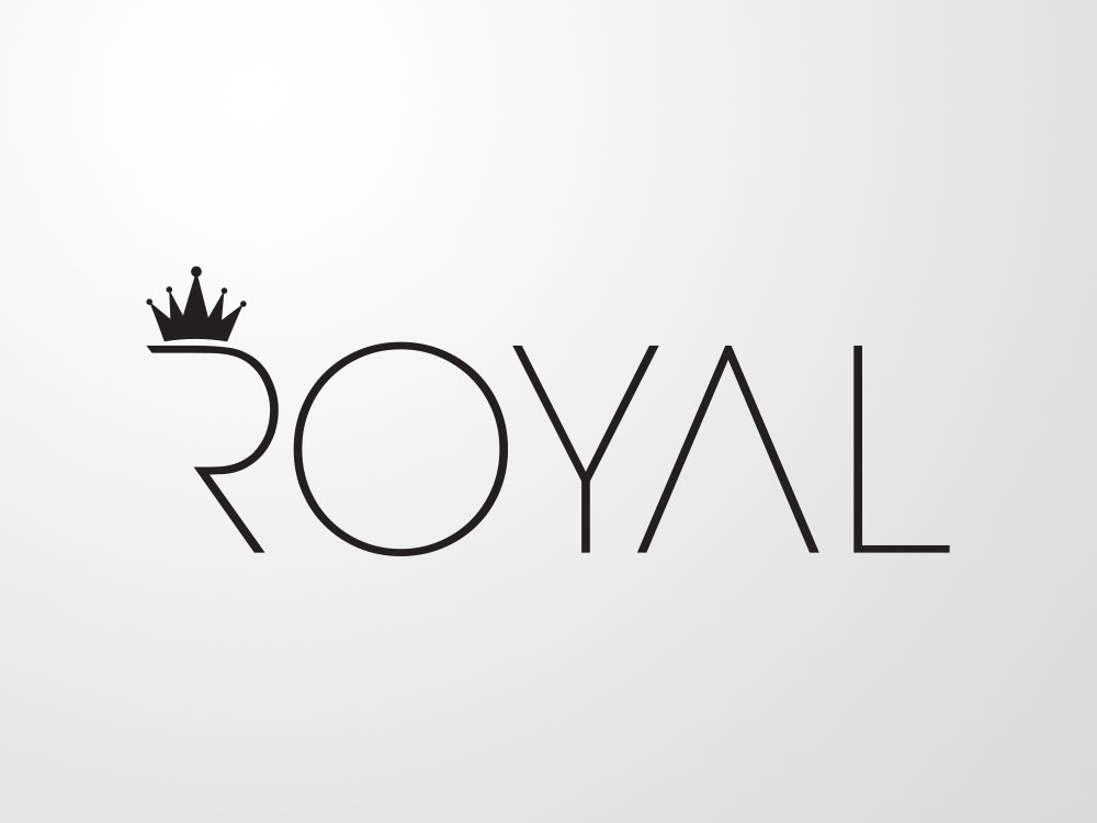 logo royal centru de infrumusetare by visualx