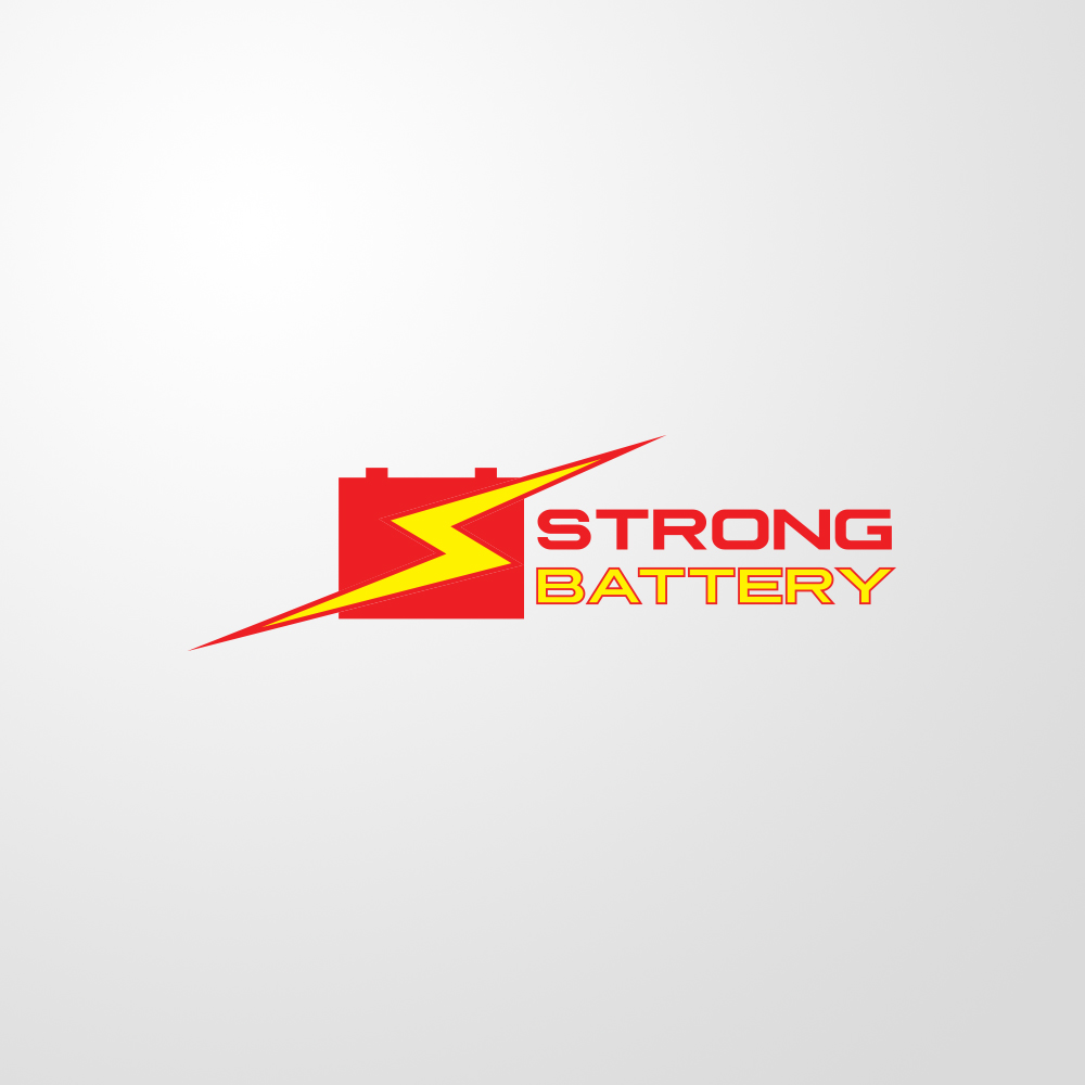 logo strong battery by visualx